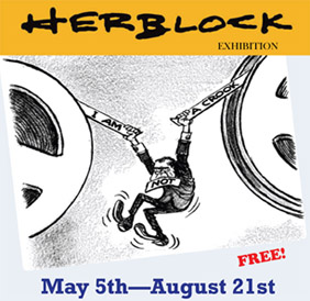 Herb Block exhibit
